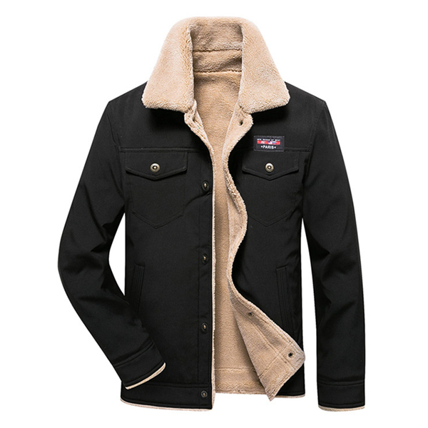 Winter Fleece Liner Thick Warm Fashion Jacket for Men