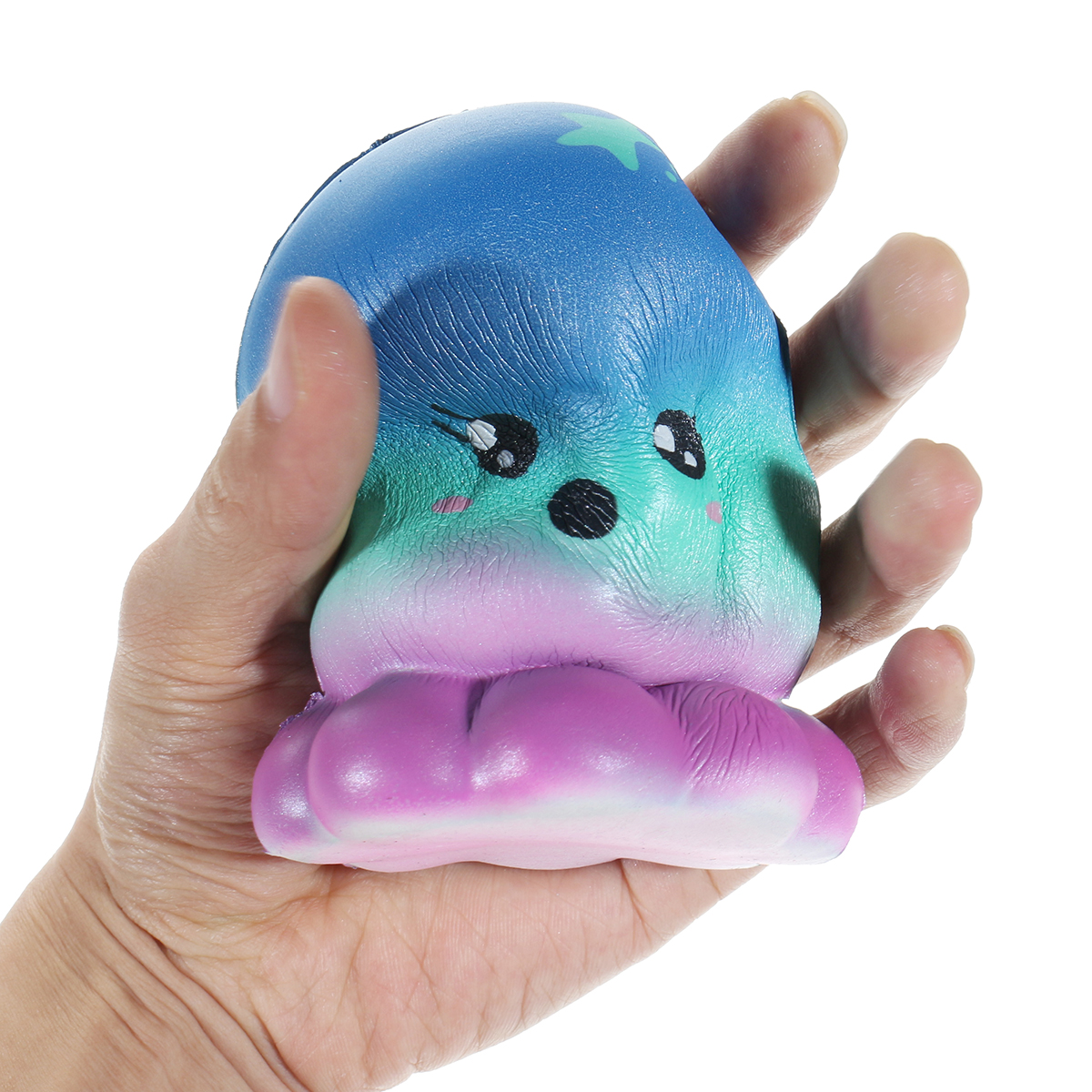Squishy Doll Jellyfish Octopus Cute Cartoon Animal Slow Rising Toy Gift Collection