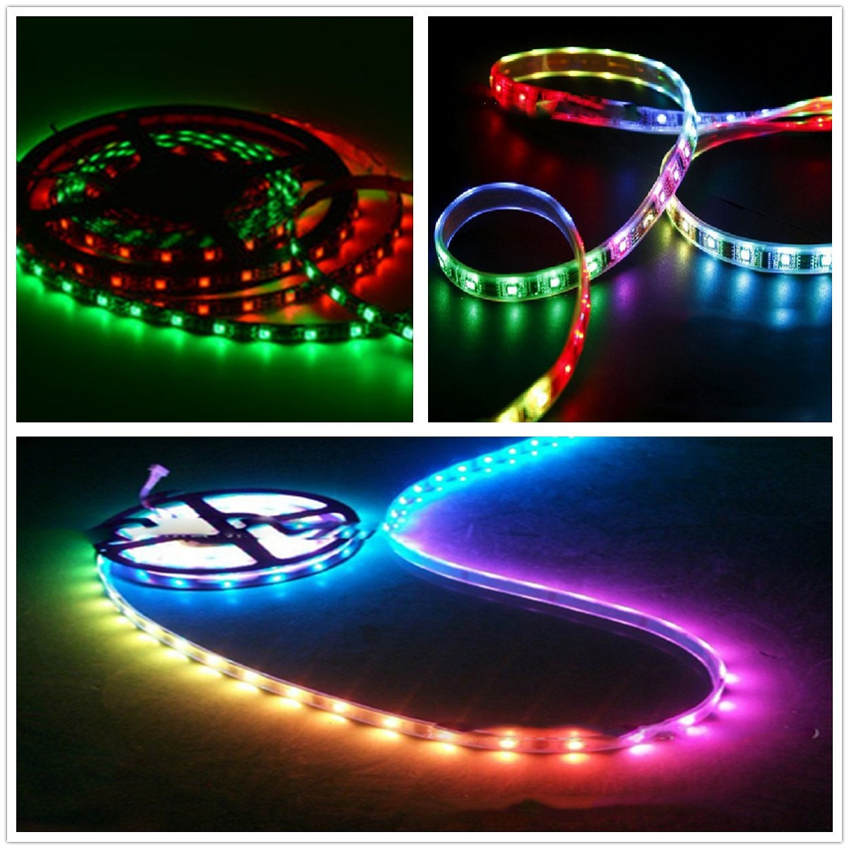 Dc12v Rgb Led Strip Pixel Bar Hc008 Rf Controller For Ws2812 Ws2811 The Strips In My Device Use Ws2801 Uses A Lpd6803