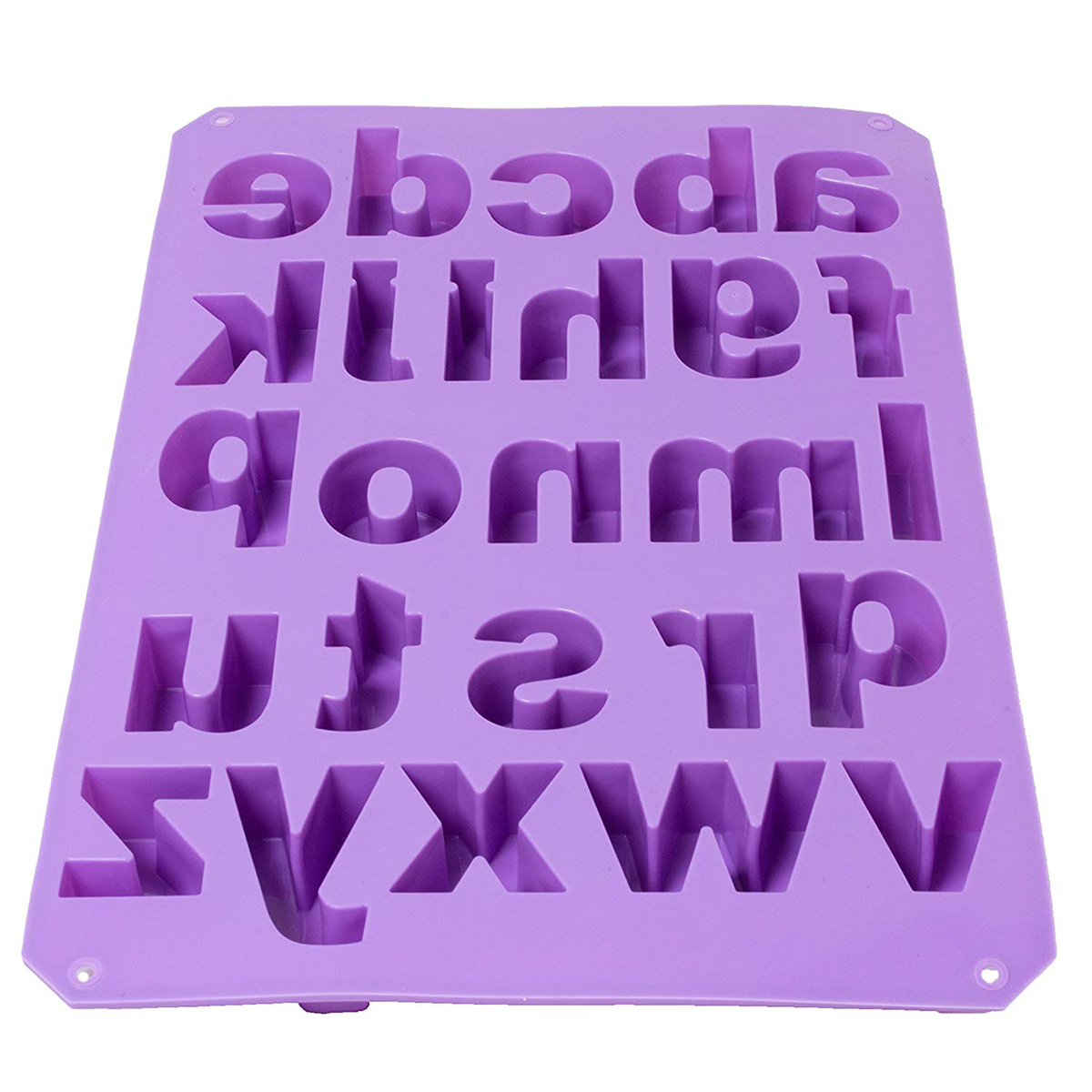Alphabet Silicone Mould Cake Decorating Candy Cookie Chocolate Baking Mold DIY