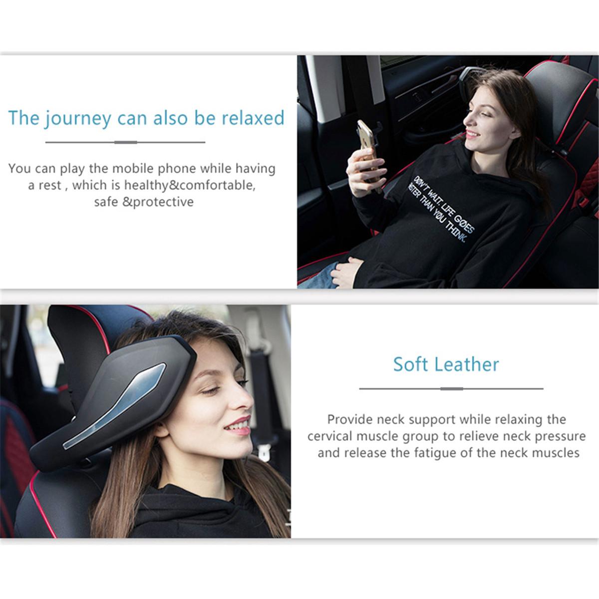 Universal Car Seat Headrest Cervical Sponge Pillow Head Neck Support Pad Four Seasons