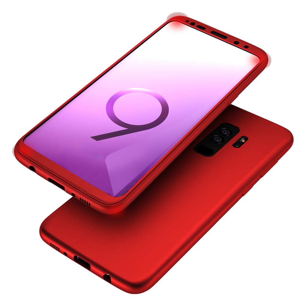 Bakeey 360 Full Body Front PC + Back Soft TPU Protective Case for Samsung Galaxy S9/S9 Plus