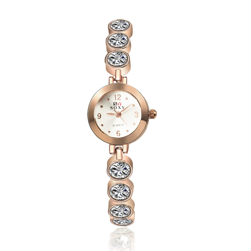 Crystal Ladies Bracelet Watch