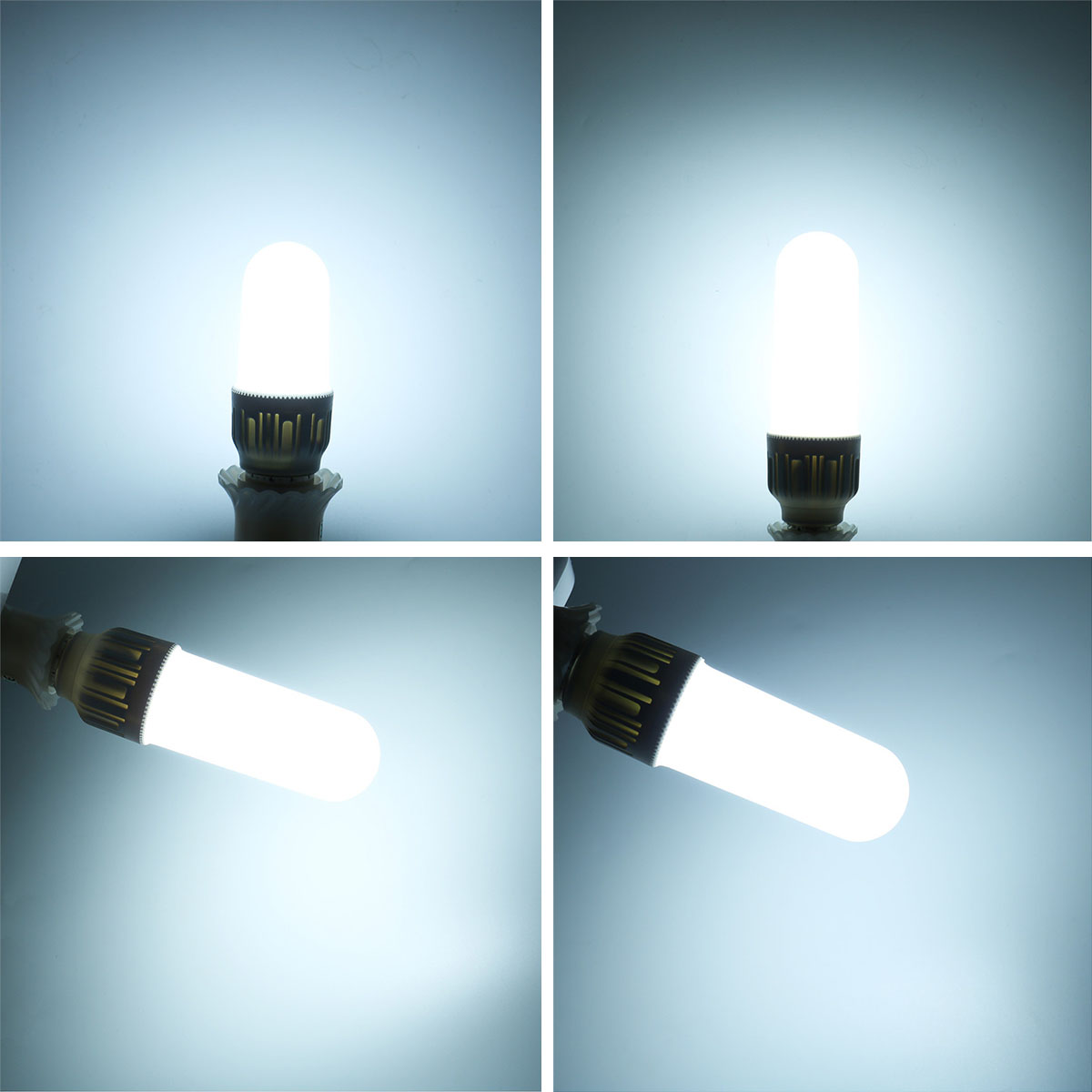 16W E27 2835 SMD 1400LM Pure White LED Corn Light Bulb Energy Saving Bright Lamp AC 220V