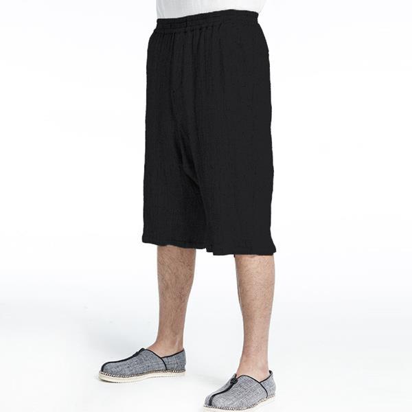 Men's Loose Cotton Linen Shorts