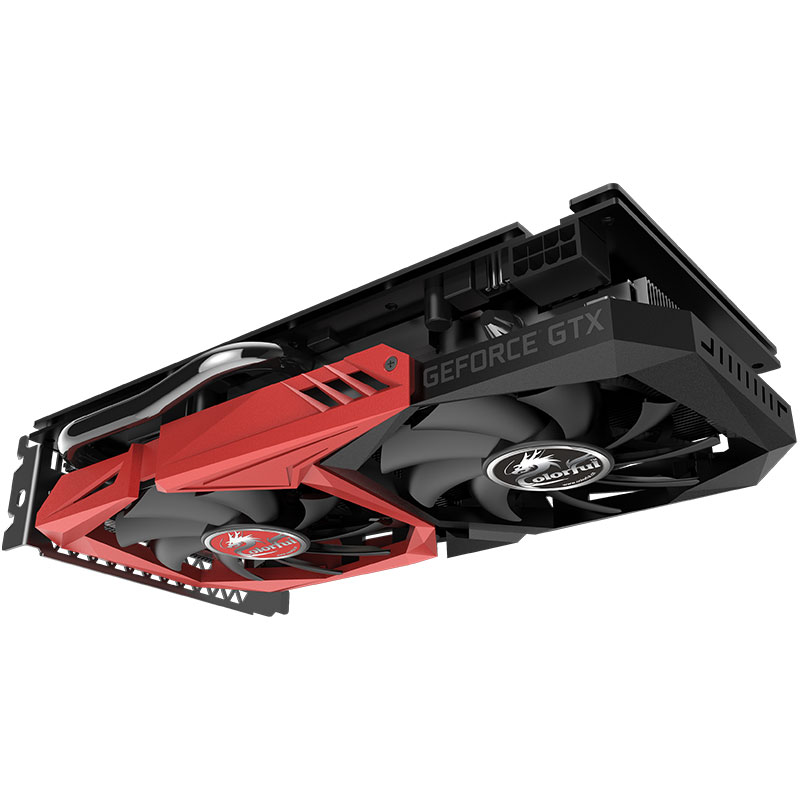 Colorful GeForce GTX 1660 6G Graphics Card GPU GDDR5 Nvidia GTX1650 Video Card 1785Mhz 128 Bit HDMI DP DVI Ports For Gaming PC