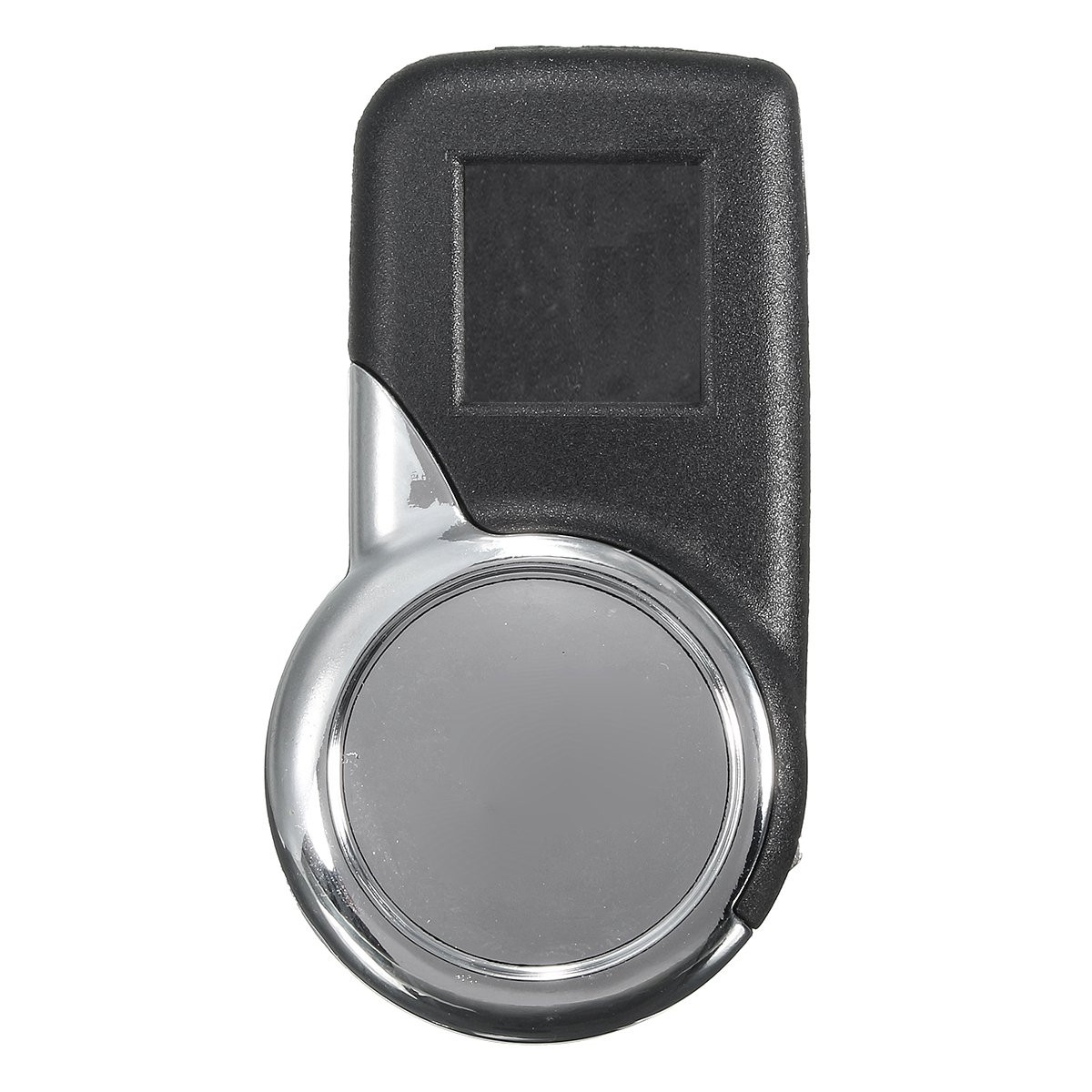 2 Buttons Plating Remote Key Fob Case Shell w/ Uncut Blade Flip for Citroen DS3