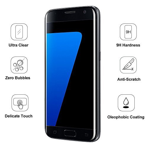 Bakeey 3D Curved Tempered Glass Screen Film For Samsung Galaxy S7 Edge
