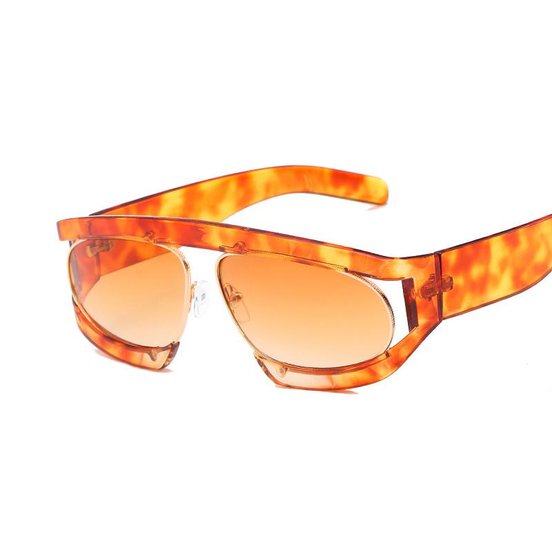 Men Women Summer Outdoor Square Sunglasses
