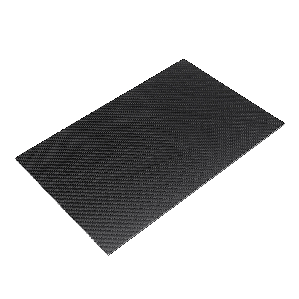 400X500mm 3K Carbon Fiber Board Carbon Fiber Plate Twill Weave Matte Panel Sheet 0.5-5mm Thickness