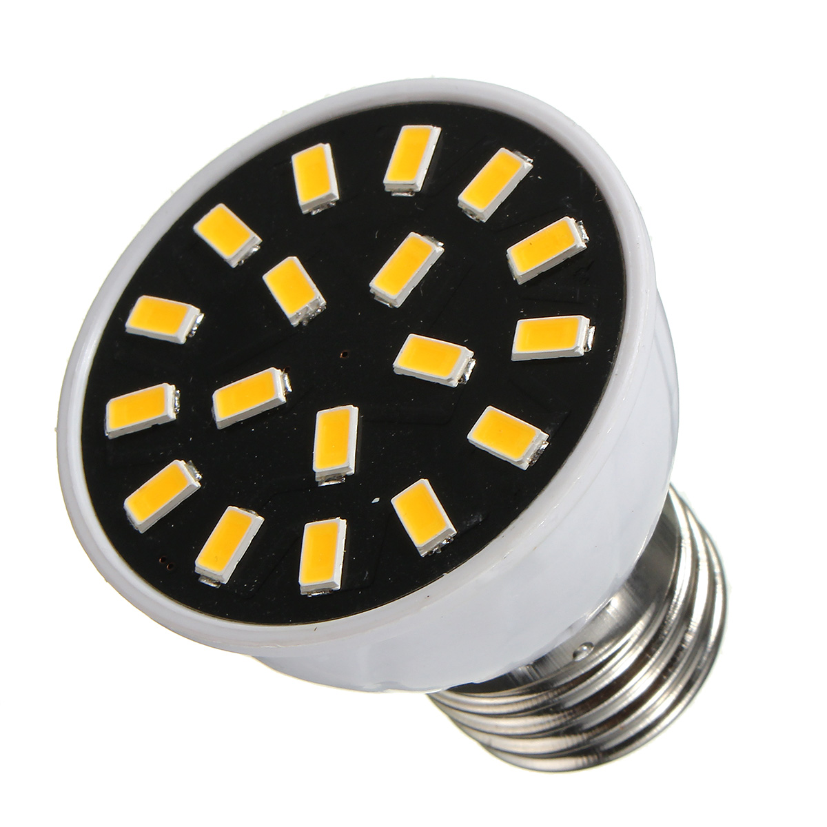 MR16 E27 GU10 LED Light Bulbs 5733 SMD 18 320LM Pure White Warm White Spot Lightt AC220V 3W