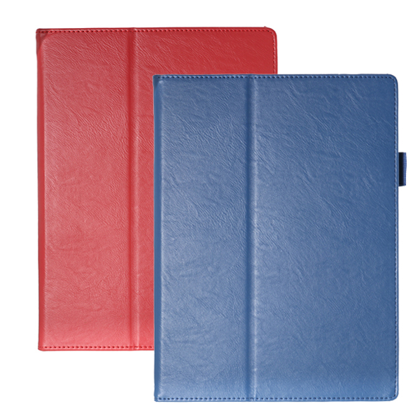 PU Leather Folding Stand Tablet Case Cover for 10.8 Inc