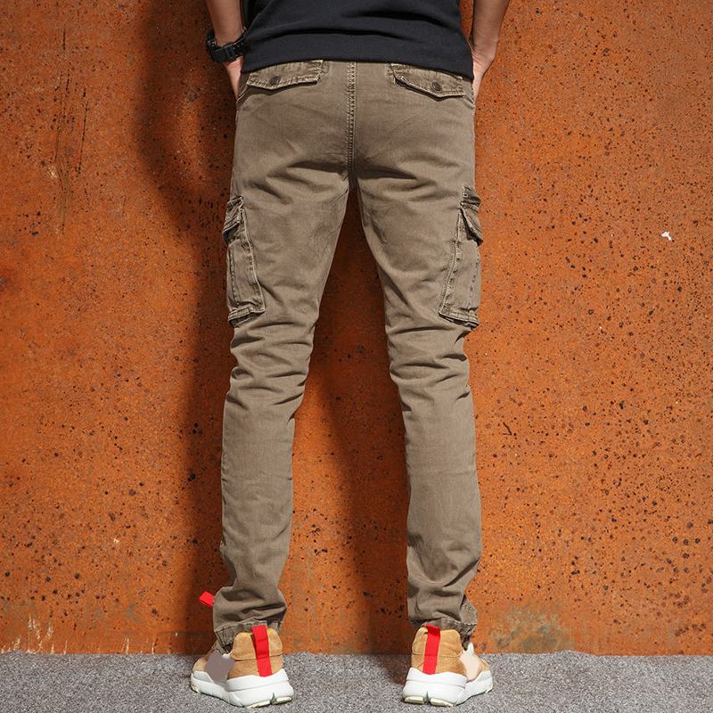 Mens Casual Cargo Pants