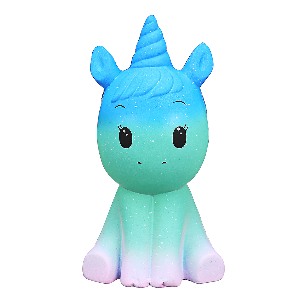 Unicorn Horse Squishy 19.5*10.6*10.2CM Soft Slow Rising With Packaging Collection Gift Toy