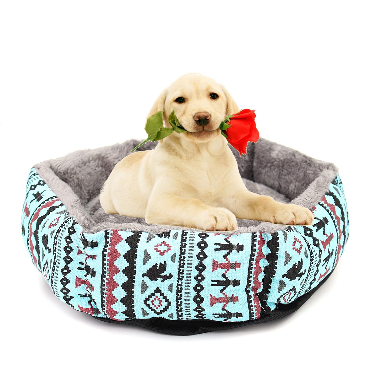 40cm Pet Dog Puppy Cat Kitten Bed Soft Cushion Warm Kennel Mat Pad Blanket