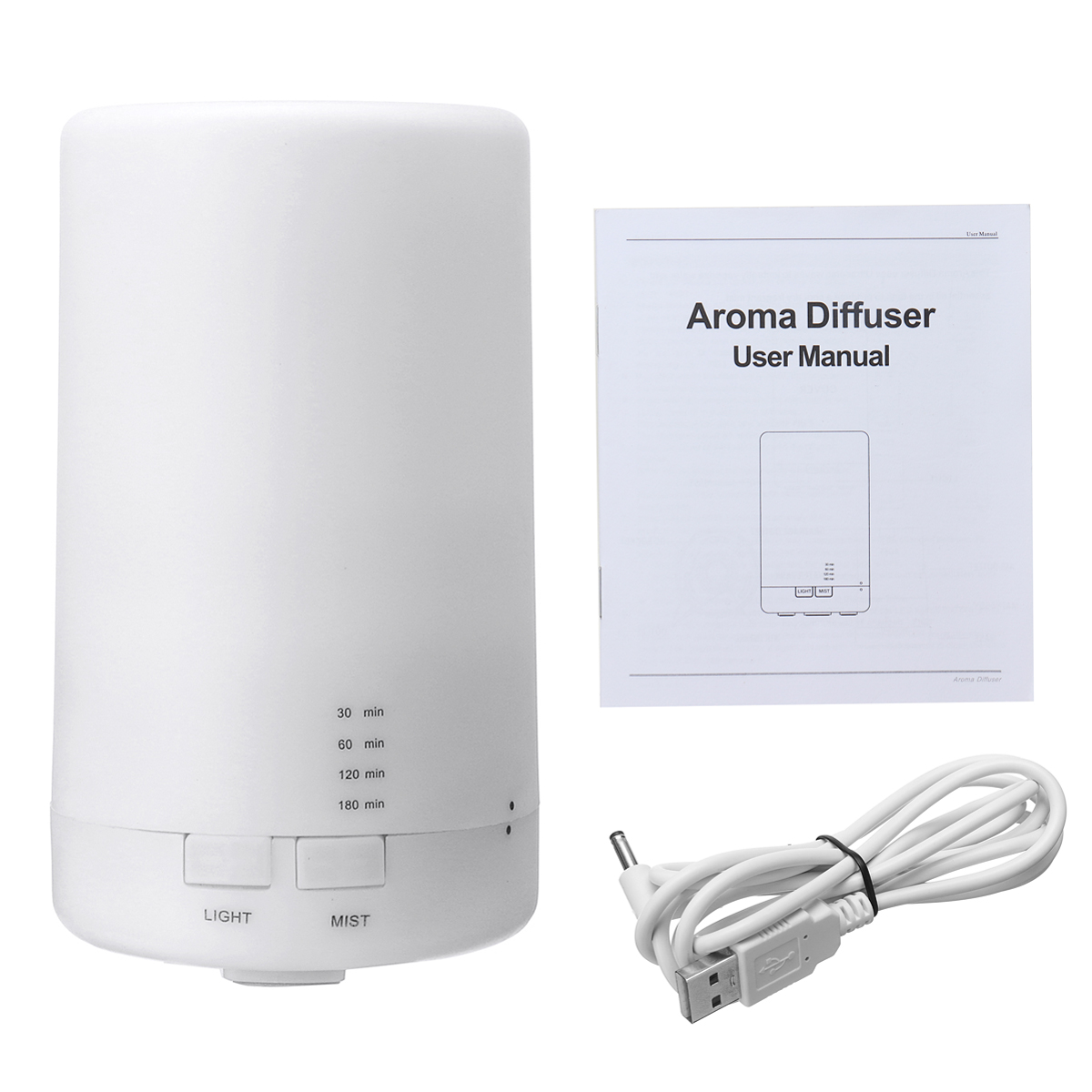 2.5W UltrasonicAromatherapy Essential Oil Diffuse Humidifier