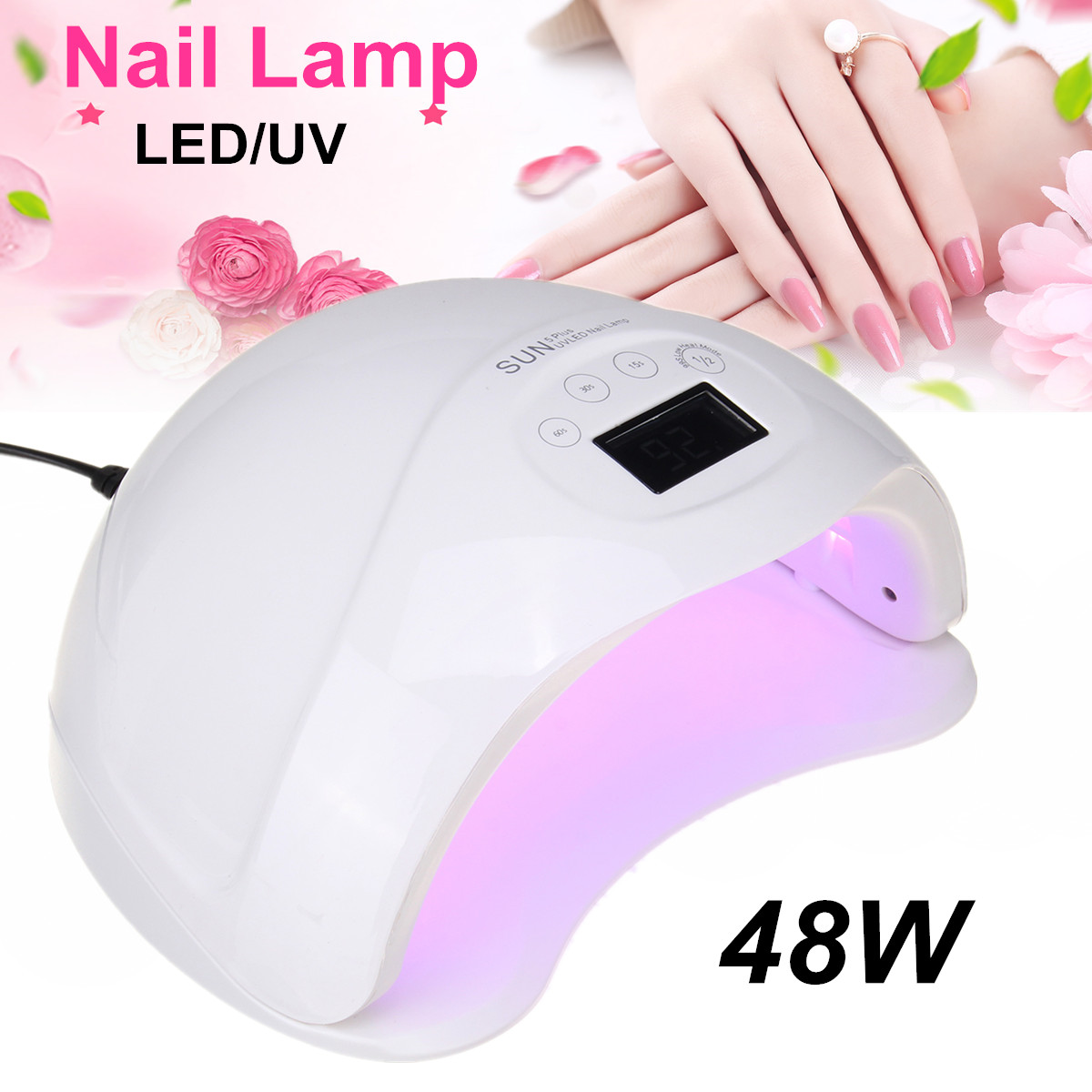 48W Led Professional LED UV Nail Art Light Dryer Lamp