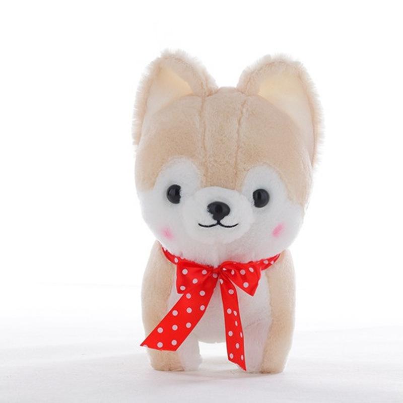 40CM Creative Simulation Super Cute Little Amuse Firewood Dog Plush Toys Baby Children Birthday Gift