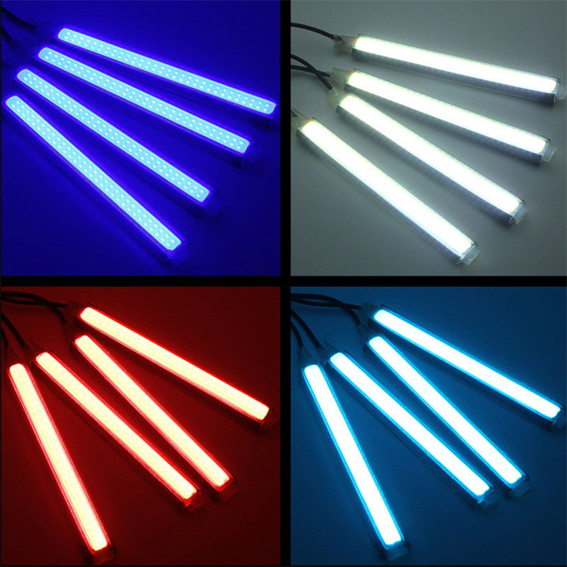 Car LED Atmostphere Strip Light COB Interior Lamp Underdash Decoration Lighting
