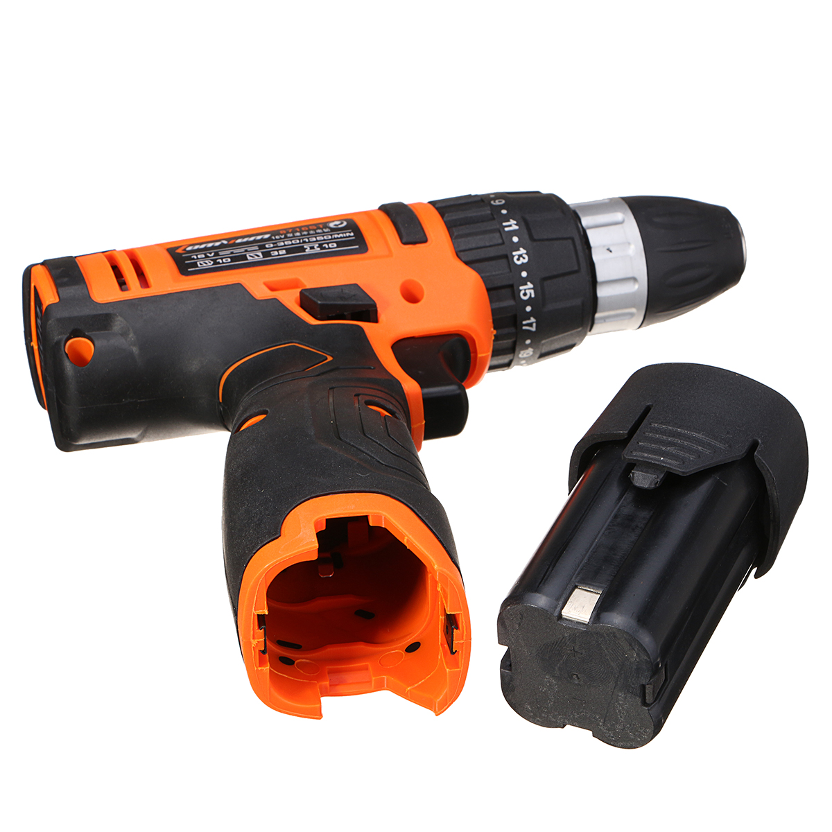 220V Drill Multifunction Battery Electric Screwdriver Rechargeable Tool