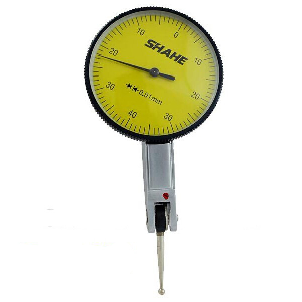 shahe 0-0.8mm 0.01mm precision lever dial test indicator measuring tool
