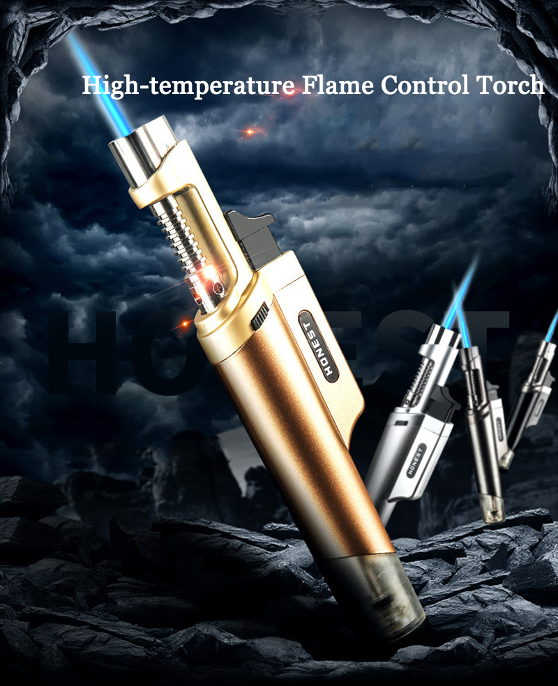IPRee® Portable Flamethrower BBQ 1200°C Lighter Camping Clinic Welding Cooking Refillable