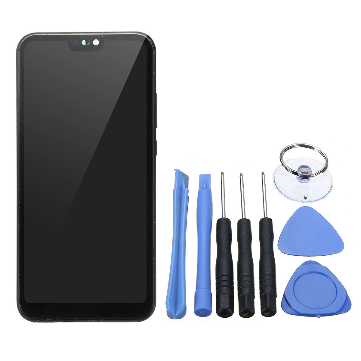 LCD Display Touch Screen Digitizer with Phone Pry Opening Tool for HUAWEI P20 LITE NERO ANE-LX1