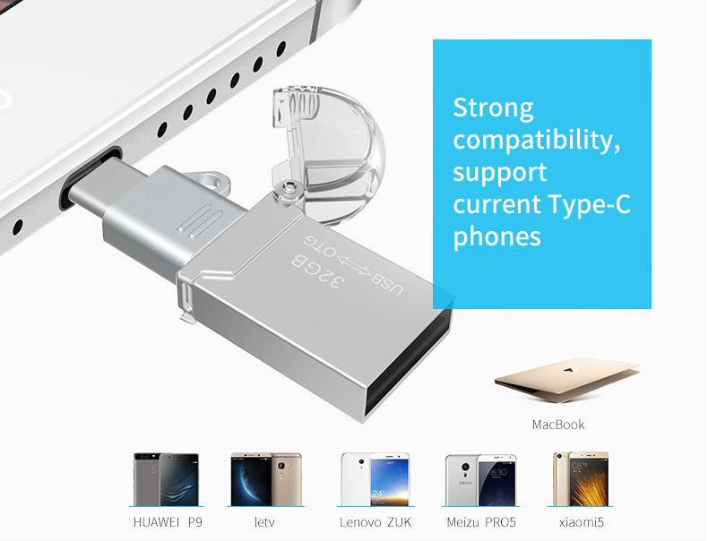 Type C to Micro USB Type C to USB 2.0 Female Adapter OTG Converter Set for OnePlus 5 S8 Xiaomi 6