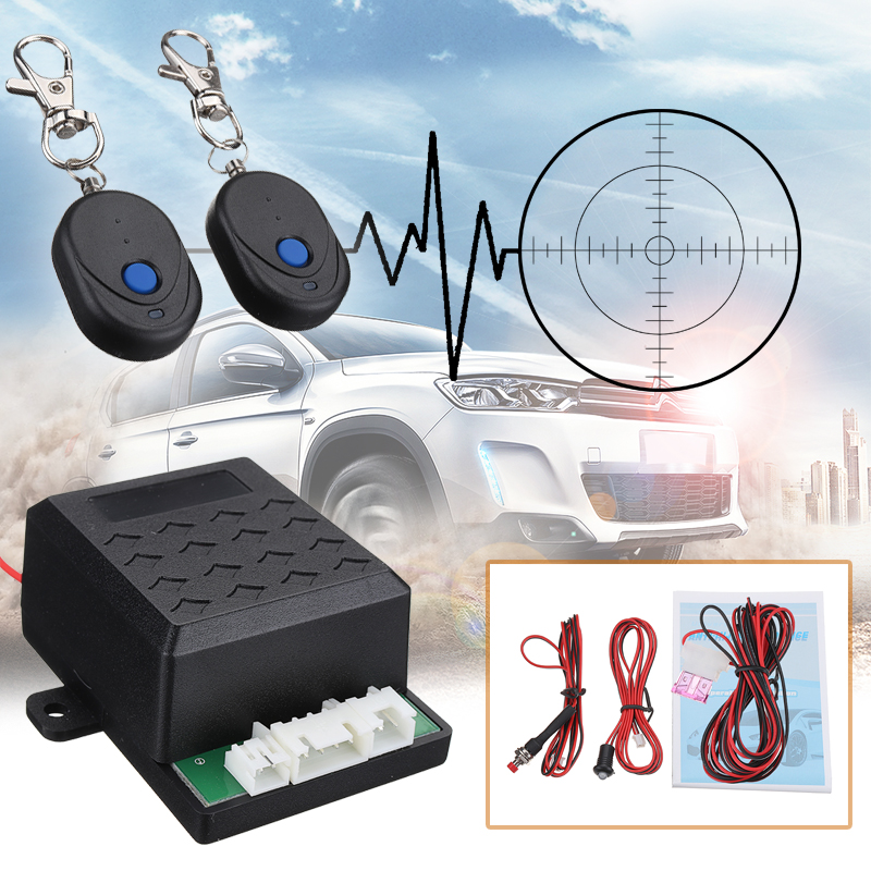 12V Car Engine Immobilizer Anti-robbery Anti-stealing Alarm Security System
