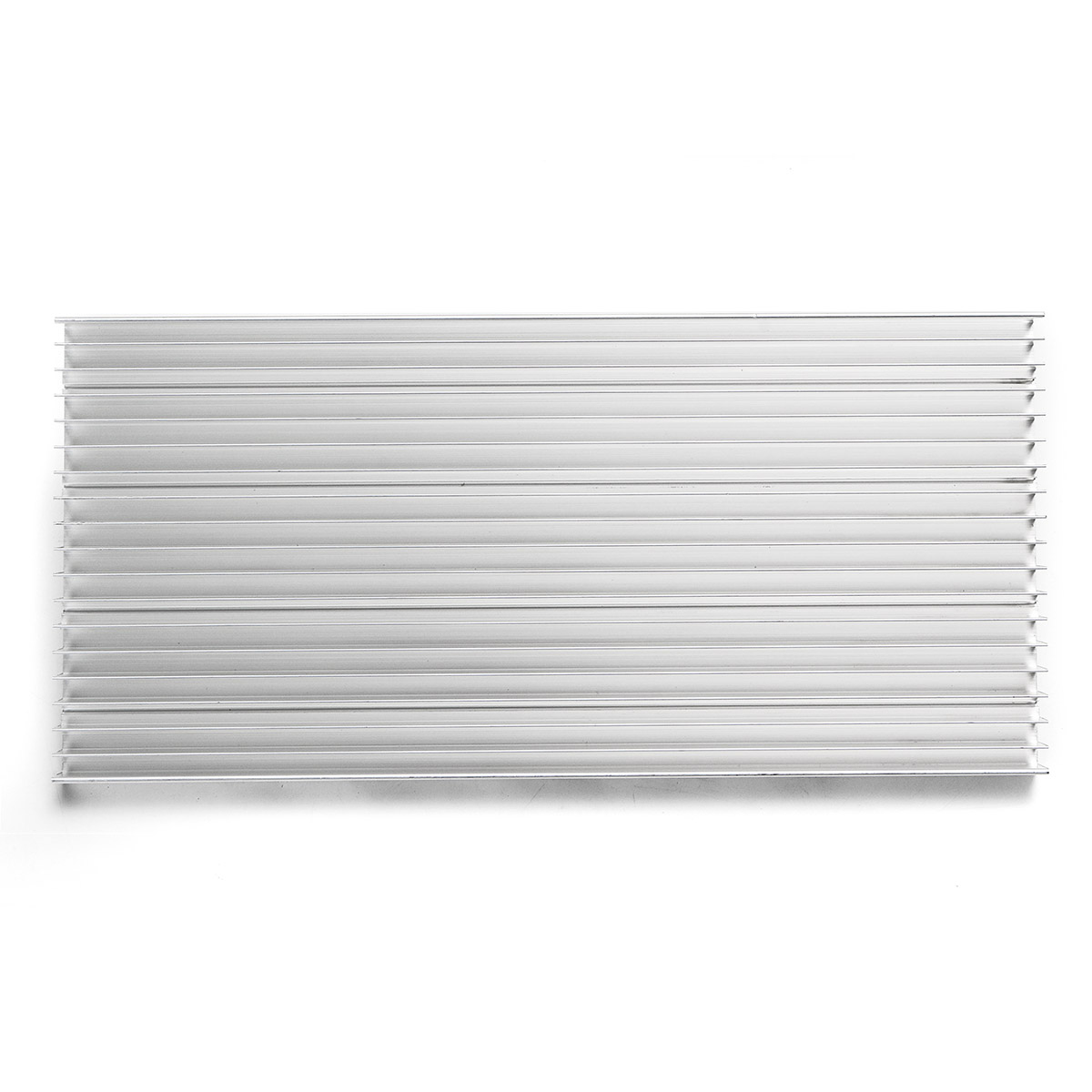 300x140x20mm Aluminum Heatsink For LED Power IC Transistor Module Circuit Board Cooling