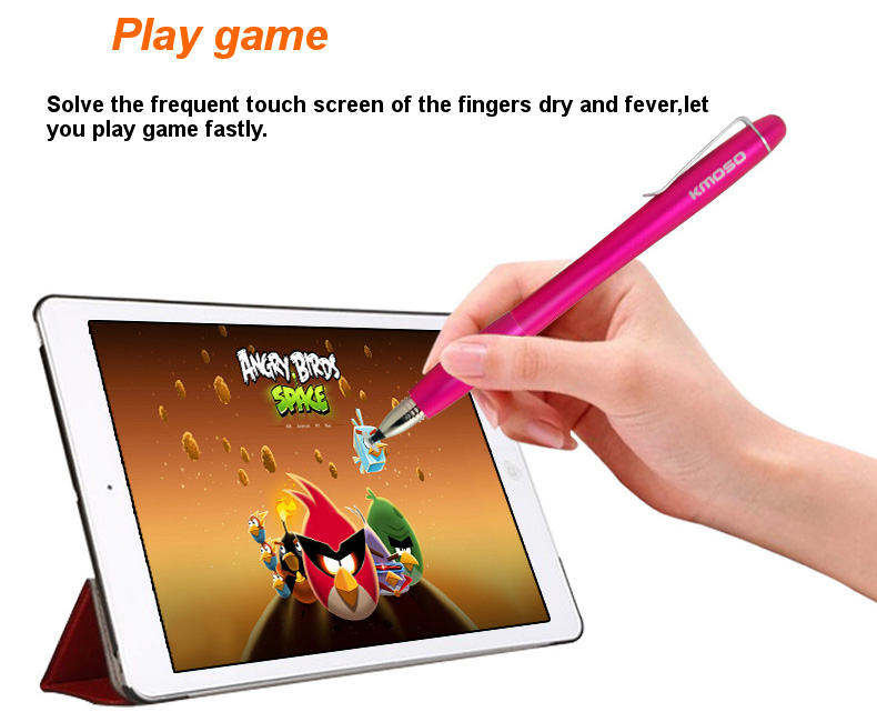 Kmoso DTYA4 Universal Disk Capacitive Stylus Pen Touch Screen Precision Pen For iPad Smartphone