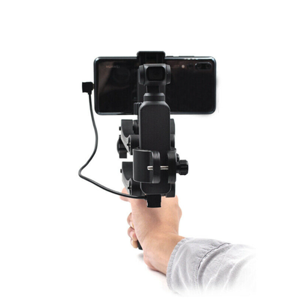 Foldable/Non-Foldable Gimbal Stabilizer Handle Grip Arm Z Type Damping Gimbal for DJI OSMO Pocket Accessories