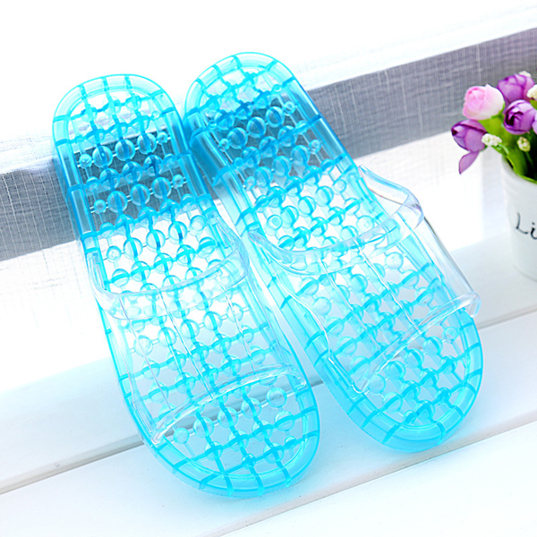 Casual Slip On Massage Bathroom shoes Slip On Home Slippers