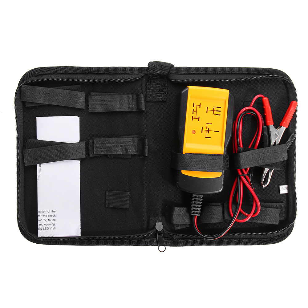 Image of 12 V Elektronische Auto Auto Batterie checker Relaistester