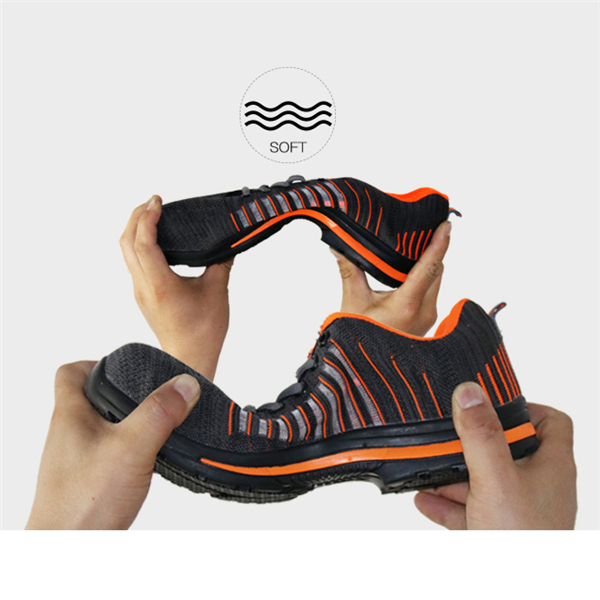 Steel Toe Safety Shoes Labor Insurance Shoes Anti-Smashing Non-Slip Outdoor Hiking Work Shoes