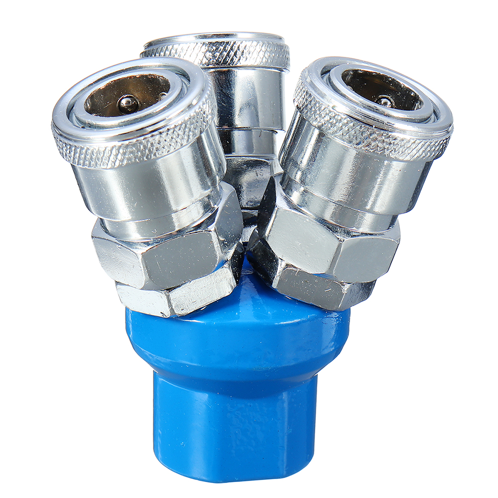 Machifit C-type Pneumatic Connector SMV SMY Round Tee SML Trachea Quick Joint Compressor Fittings