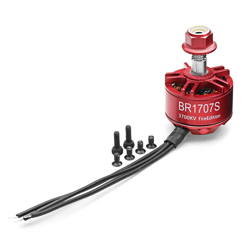 Racerstar 1707 BR1707S Fire Edition 3000KV 3700KV 2-3S Brushless Motor For RC Drone FPV Racing Frame