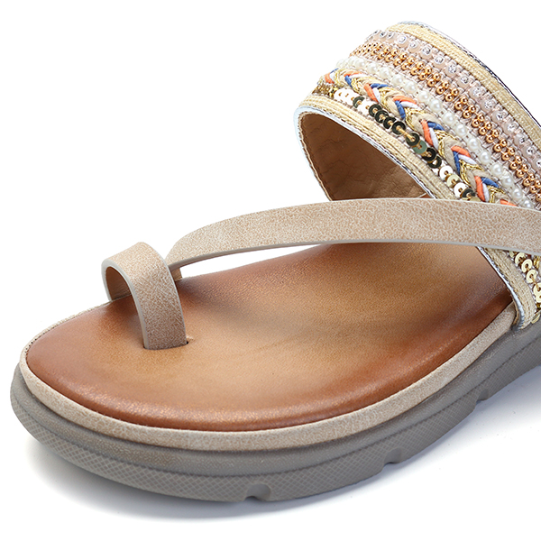 5b63064d9408 SOCOFY Bohemia Casual Slippers Flat Sandals Product Details  Buy Now