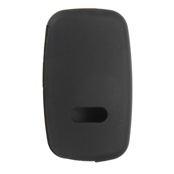 3 Buttons Solicone Key Protector Cover Case Fold for Audi