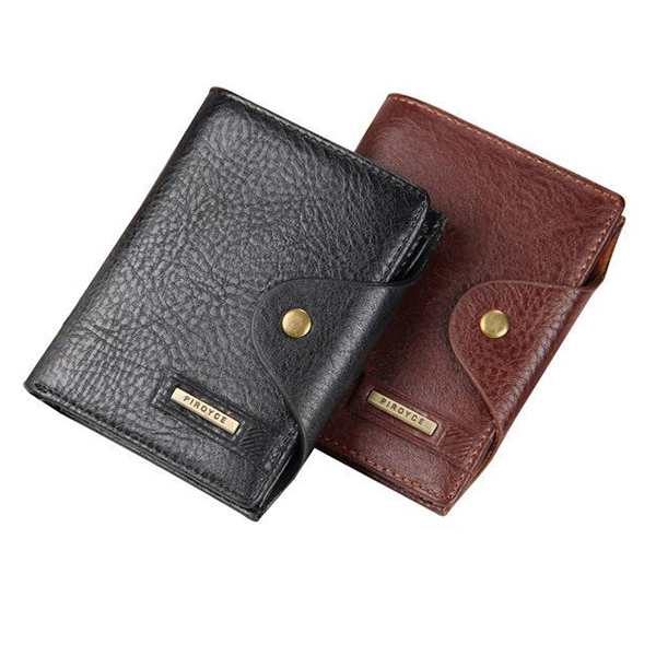 Details: Material PU Leather Color Black, Coffee Weight 150g Length 11cm (4.33'') Height 13.8cm (5.43'') Width 1.9cm (0.75'') Pattern Solid Inner Pocket 6 Passport Holders,6 Card Holders, Bill Holder, Inner Zipper Pocket Closure Hasp Package include: 1*Wa #purse
