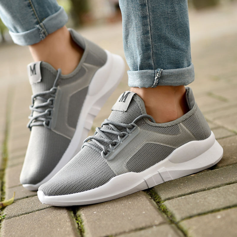 Outdoors Men Women Casual Athletics Sport Sneakers Breathable Non-slip Running Shoes