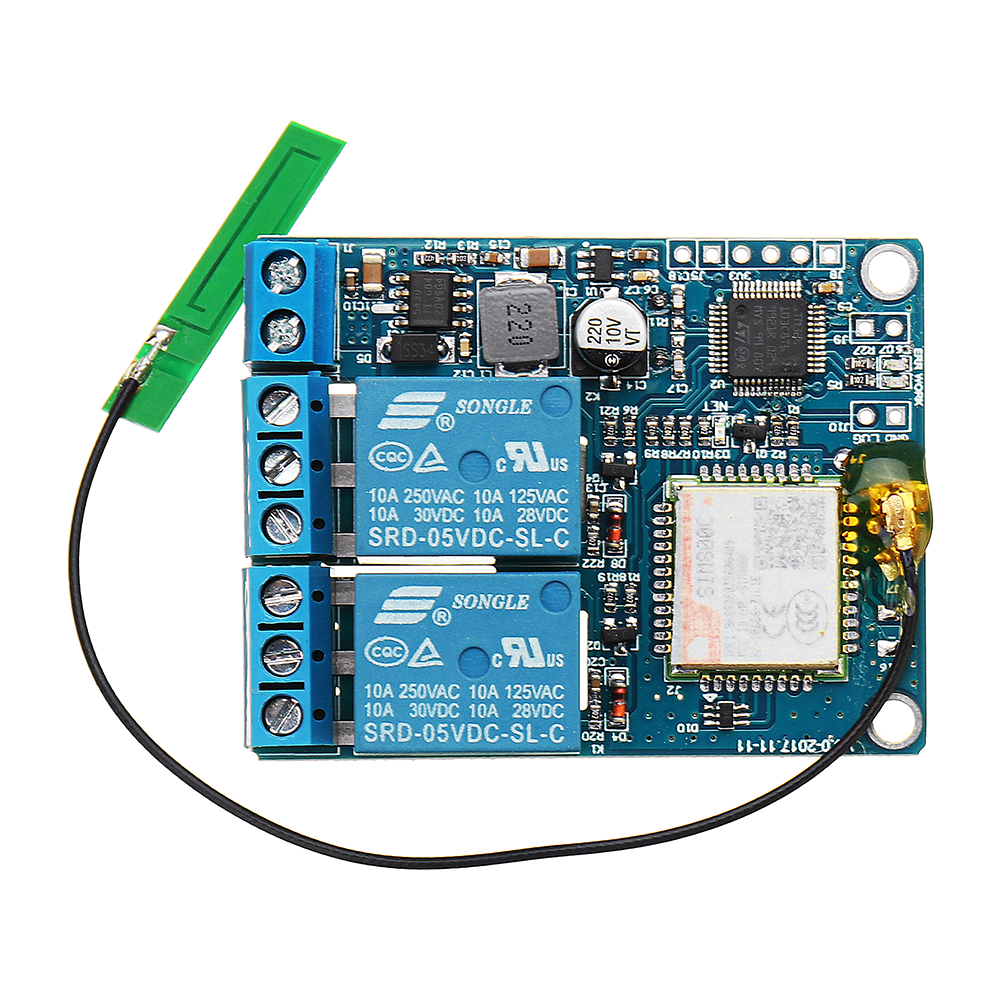UNV-GSM-2C-SMS&CALL Controller Remote Control Switch For Pump Control Cabinet Server Restart