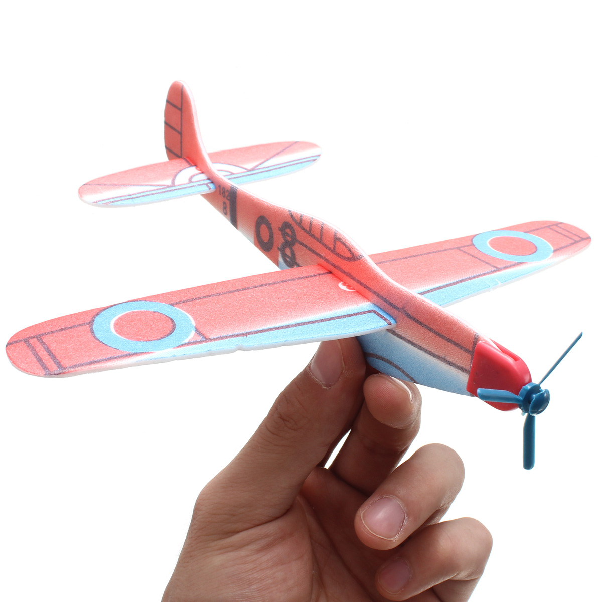 Flying Glider Planes Boy Girl Xmas Gift Birthday Party Bag Filler Education Toy