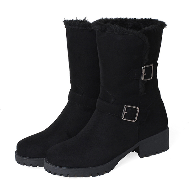 Large Size Suede Keep Warm Winter Snow Boots
