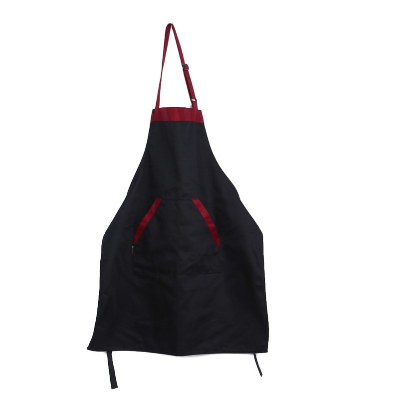 Unisex Halterneck Cooking Baking Overall Aprons Catering Fruit Shop Waiter Home House Kitchen Aprons with 2 Pockets Kitchen Accessories