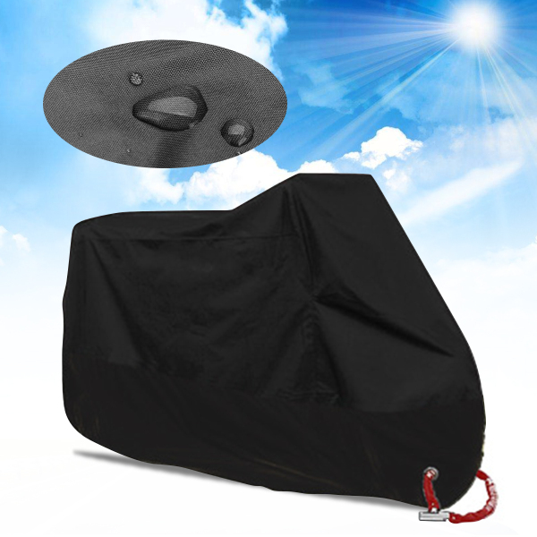 Motorcycle Cover Waterproof Outdoor UV Protector Bike Rain Dustproof Motor Bike Motor Scooter M-4XL