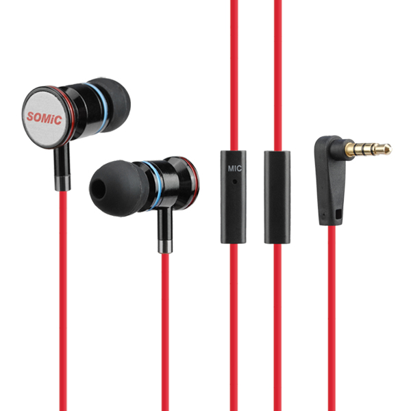 SOMIC MH405 Wire Stereo Heavy Bass Earbuds Earphone Headset Headphone with Mic for Iphone Samsung