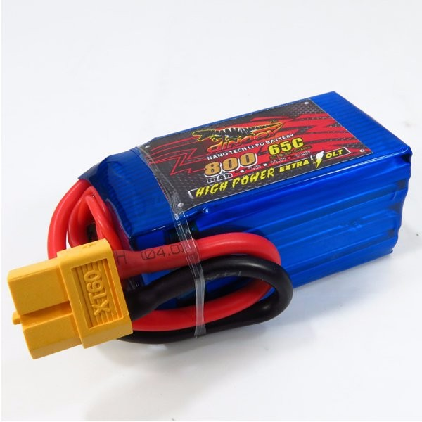 Giant Power Dinogy 800mAh 14.8V 4S 65C LiPo Battery For