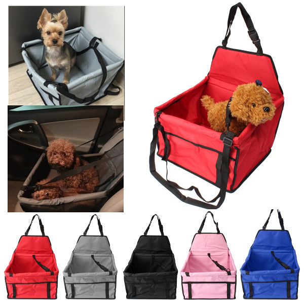Pet Car Mats Bag Seat Booster Carrier Belt Cover Oxford Cloth Pet Travel Bag