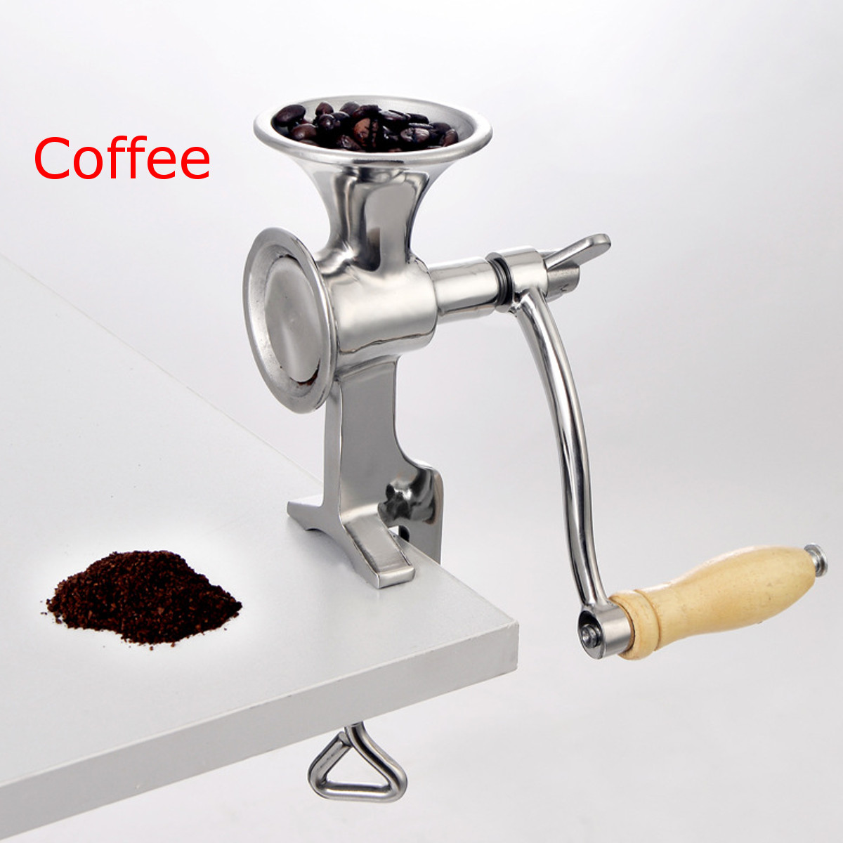 Adjustable Mill Grinder Stainless Steel Manual Coffee Beans Grinder Hand Grinding Tool